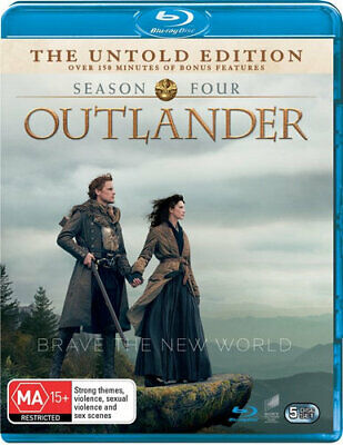 AU31.75 • Buy NEW Outlander Blu Ray Free Shipping