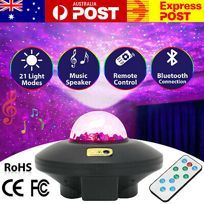 AU28.95 • Buy LED Night Light Projector Galaxy Starry Ocean Star Sky Baby Room Party Lamp Gift
