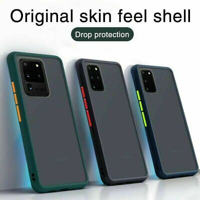 Matte Case For Samsung S20 FE S10 S9 8 Plus Note 20Ultra A21s A51 A71 Back Cover • 3.89£