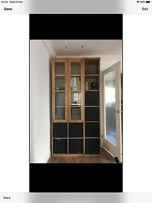 Ikea Billy Bookcase With Glass Doors • 65£