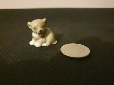 WADE 1950s LION CUB First Whimsies Set Eight 1957-1961 Zoo Animals ~ Excellent • 3.99£