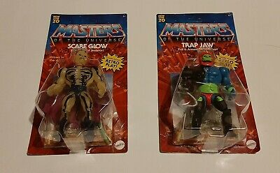 $39.99 • Buy Masters Of The Universe Origin Lot Walmart Executive Scare Glow Trap Jaw