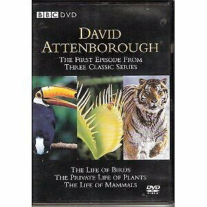 David Attenborough - The Life Of Birds, The Private Life Of Plants, And The Life • 2.57£