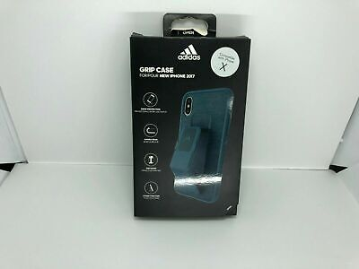 AU6.63 • Buy Adidas Performance Grip Case Cover For Apple IPhone X IPhone XS Navy Blue
