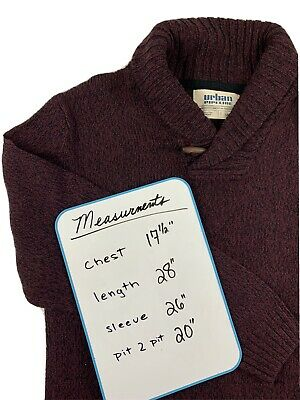 £13.81 • Buy Excellent Condition Urban Pipeline Cotton Mock Neck Sweater Pullover Men's Large