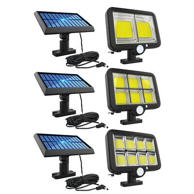 Waterproof LED Solar Wall Light Motion Sensor Yard Street Security Lamp • 16.86£