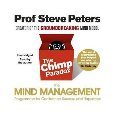 The Chimp Paradox By Steve Peters (author) • 16.38£