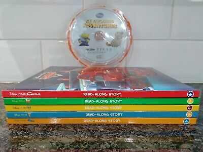 Disney Adventure 5 Book Read Along And CD Collection  • 2£