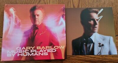 Gary Barlow Music Played By Humans Signed Cd Brand New Take That  • 0.99£