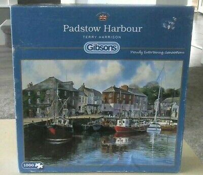 Padstow Harbour By Terry Harrison Jigsaw Puzzle (1000 Piece) Gibsons • 6£
