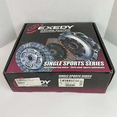 $389.99 • Buy Exedy Racing Clutch 07805CSC Stage 1 Organic Clutch Kit Fits 05-10 Mustang