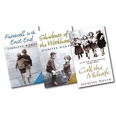 Call The Midwife Three Book Set Jennifer Worth Farewell To The Eastend Brand New • 12.99£