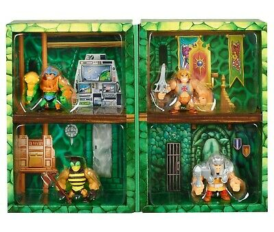 $32.95 • Buy Masters Of The Universe Eternia Minis 4-Pack Set Diorama He-Man Buzz Saw Ram Man