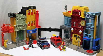 FISHER PRICE IMAGINEXT Rescue City Center Fire & Police Station X7669  #B • 42.68£