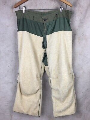 """$148 • Buy 1950's Vintage M-1951 Arctic Shell Trouser Pants WITH LINER """"small Regular"""""""