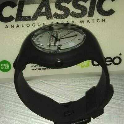 £2.99 • Buy BREO CLASSIC Analogue Strap Watch In Black, Fits All  Brand New Batteries Fitted