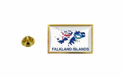Pins Pin's Flag National Badge Map Hat Country FK Falklands Islands • 3.60£
