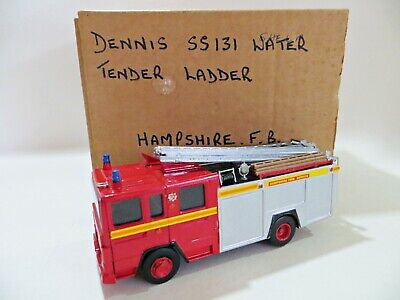 £74.99 • Buy Roxley/a. Smith/other 'dennis Ss131 Hampshire Water Tender/ladder Fire Engine'