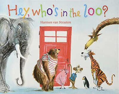 Hey, Who's In The Loo? By Van Straaten, Harmen, NEW Book, FREE & FAST Delivery,  • 6.29£
