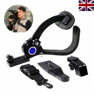 £25.99 • Buy Hands Free Camera Shoulder Mount Support Pad Stabilizer For Camcorder DV DSLR UK