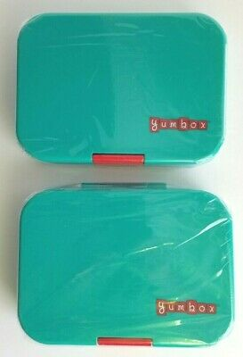 AU53.45 • Buy Yumbox Bento Fresh Leak-Proof Compartment Lunch Boxes - BPA Free - Set Of 2- New