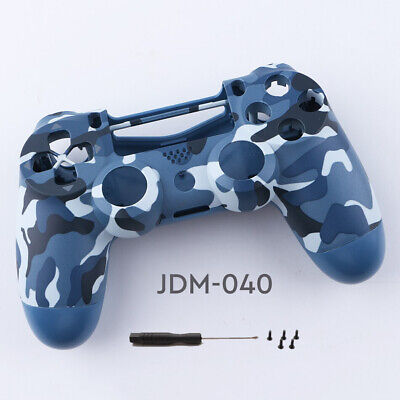 AU23.81 • Buy PS4 Controller Case Blue Camo Housing Shell For PlayStation 4 JDM-040 Model