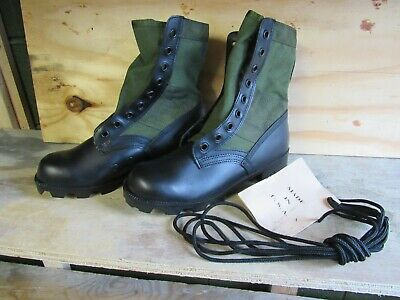 $28 • Buy US GI Style Green Jungle Combat Boots New US MADE {7R}