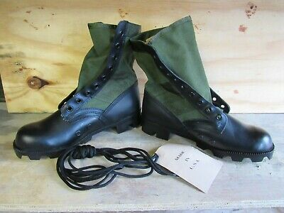 $28 • Buy US GI Style Green Jungle Combat Boots New US MADE {7W}