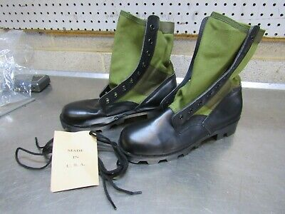 $15 • Buy US GI Military Style Green Jungle Combat Boots US MADE  {5R}