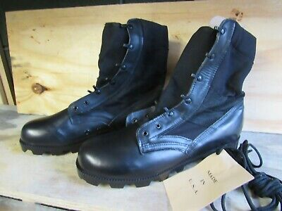 $35 • Buy US GI Military Style Black Jungle Combat Boots New US MADE {12W}