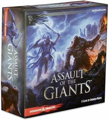 AU93.94 • Buy Dungeons & Dragons Board Game: Assault Of The Giants - New!