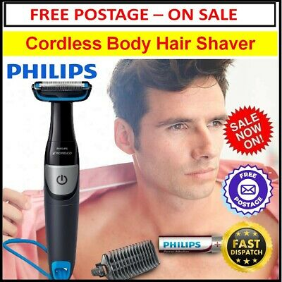 AU49.92 • Buy Mens Body Hair Shaver Cordless Hair Trimmer Legs Arms Chest Portable Shaving