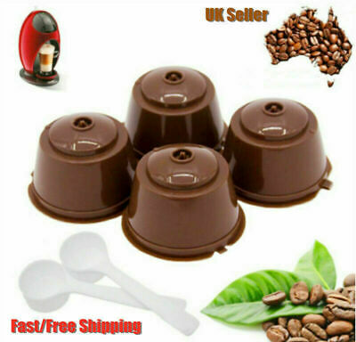UK Refillable Coffee Capsule Cup For Dolce Gusto Nescafe Reusable Filter Pod Pro • 3.66£
