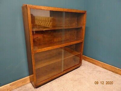 £80 • Buy Vintage Glass Fronted Book Case