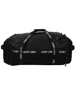 AU139.95 • Buy Black Wolf Adventure Pro Duffle 80L Duffle Bag - Jet Black