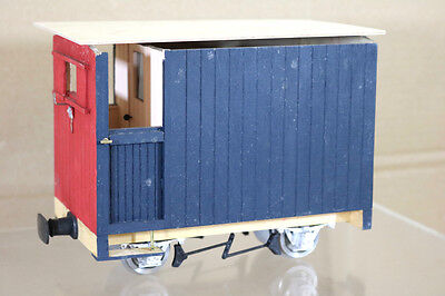 $ CDN68.75 • Buy BRANDBRIGHT G SCALE NARROW GAUGE KIT BUILT FREELANCE GUARDS BRAKE VAN WAGON Ng