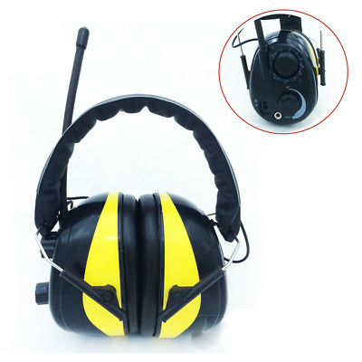 Electronic Ear Defenders Comfort Noise Reduction Hearing Protector + AM FM Radio • 39.99£