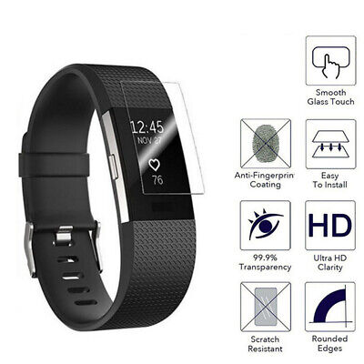 AU9.55 • Buy Fit For Fitbit Charge 4 2pcs Hydrogel Film Explosion-proof Screen Protector Skin