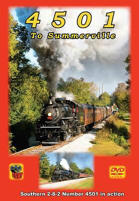 £17.75 • Buy 4501 To Summerville DVD Or BLURAY Southern Railway Greg Scholl Tennessee Valley