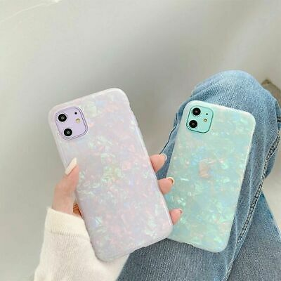 AU8.89 • Buy Case For IPhone 12 11 Pro MAX 8 7 Plus XR ShockProof Marble Phone Silicone Cover