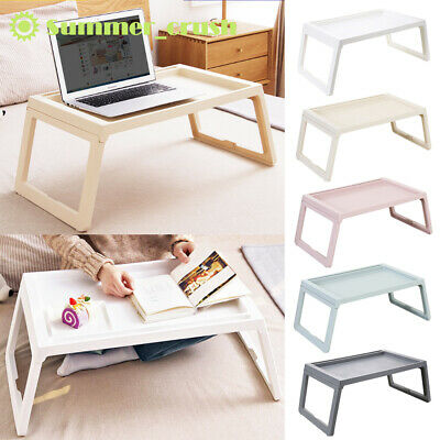 £9.49 • Buy Portable Folding Laptop Computer Notebook Table Laptop Stand Desk Bed Sofa Tray