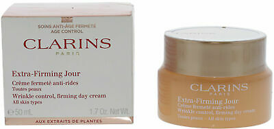 £36.95 • Buy Clarins Extra Firming Jour Wrinkle Control Firming Day Cream For All Skin 50ml