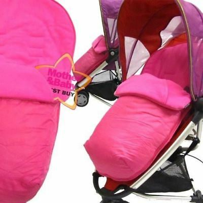 £9.95 • Buy Pink Footmuff To Fit Quinny Zapp Buggy And Petite Star Zia Buggy.