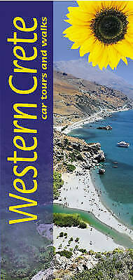 Western Crete Walks And Car Tours (Landscapes Series) Jonnie Godfrey And Elizabe • 3.60£