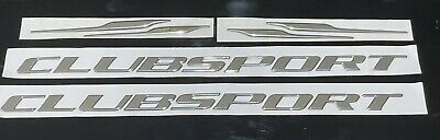 AU115 • Buy HSV Clubsport VX - Side Skirts Chrome Badge