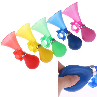 Kids Bike Alarm Bell Silicone Hooter Child Bicycle Squeeze Horn Toy Hooter New • 4.67£