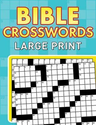 Bible Crosswords--Large Print By Compiled By Barbour Staff (author) • 6.16£