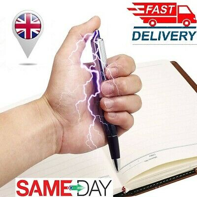 Electric Shock Pen Utility Gadget Gag Practical Joke Funny Prank Trick Novelty  • 1.99£