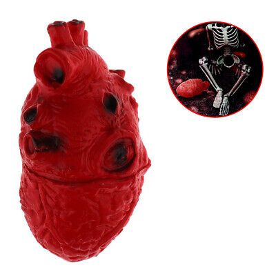 $ CDN7.32 • Buy Halloween Fake Human Heart Prop Size For Party Decor Realistic Horror Props