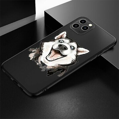 AU13.42 • Buy Cute Husky Wolf Phone Case Cartoon Soft Silicone Cover For IPhone 12 11 X XS XR